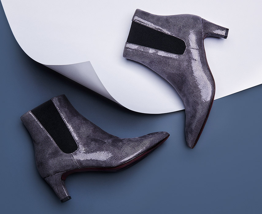 low-heeled ankle boot for women