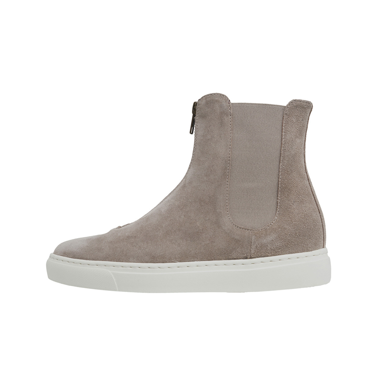 High-top Front zip sneaker